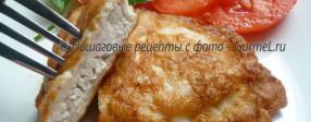 Отбивные из куриного филе в очень вкусном кляре