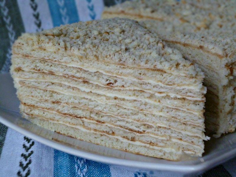 Быстрый торт на сметане рецепт пошагово 120