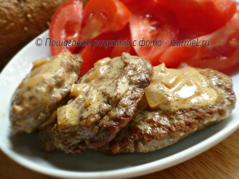 Котлеты из куриной печени пышные рецепт с пошагово