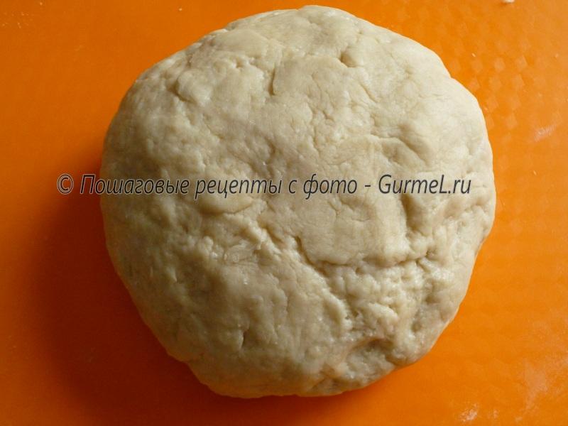 Рецепт простого бездрожжевого теста для пирога