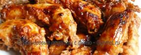 Куриные шейки запечённые