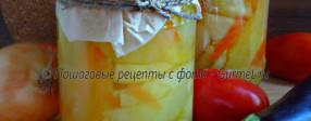 Перец маринованный в масляной заливке