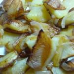 Картошка жареная по-домашнему