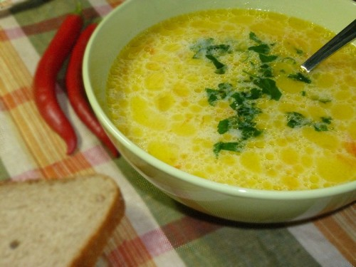 рецепт супа стандартный с рисом или вермишелью