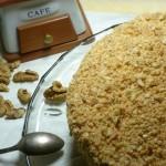 Торт бисквитно-ореховый