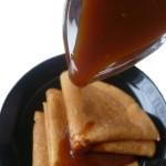 Карамельный соус на кефире