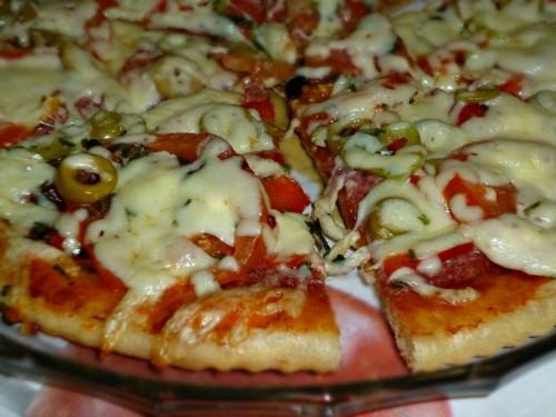 Универсальное тесто для пиццы
