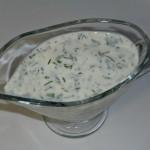 Лёгкий йогуртовый соус