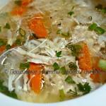 Куриный суп — целебный