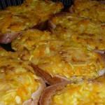 Бутерброды «Летние» с кабачком и колбасным сыром