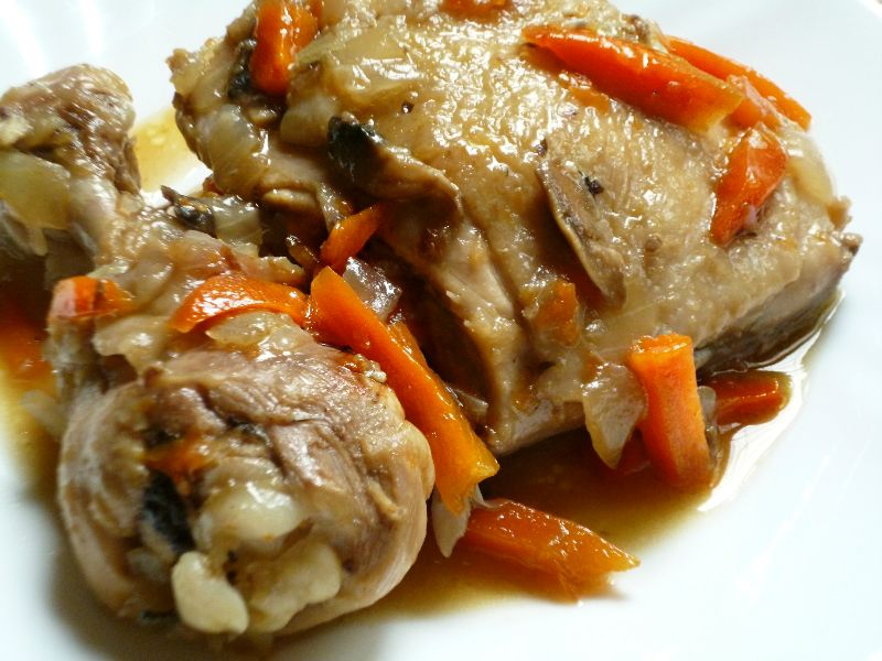 курица фаршированная грибами в мультиварке рецепт