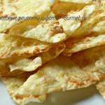 Чипсы с сыром из лаваша