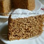 Ореховый торт за 5 минут (без муки и масла)