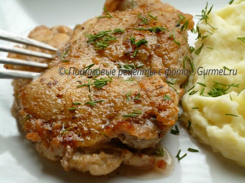 Как приготовить стейки свинины рецепты