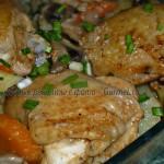 Курица с картофелем в «рукаве»