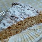 Яблочная коврижка (необычный, простой и вкусный пирог)