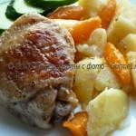Курица с картофелем в мультиварке в «рукаве»