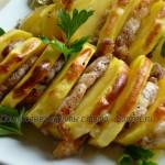 Картофель «Праздничный» с беконом