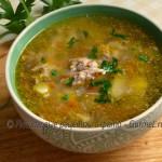 Быстрый суп с домашней тушёнкой