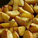 Картофель запечённый  (экспресс-способ)
